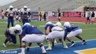 2016 Javelinas First Day in Full Pads