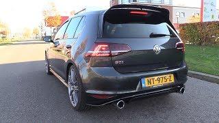 Volkswagen Golf 7 GTI Clubsport - Sound & Accelerations!