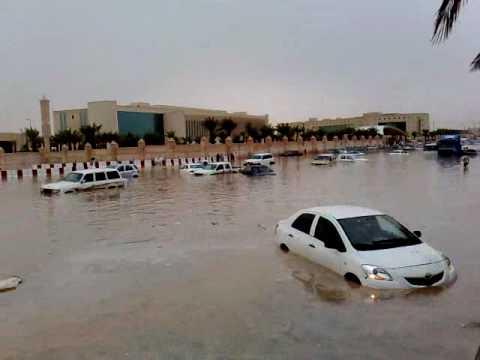 امطار مدينة الرياض الدائري الشرقي 3