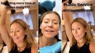 Kelly Ripa Managing Pandemic Panic With Botox And At-Home Workout