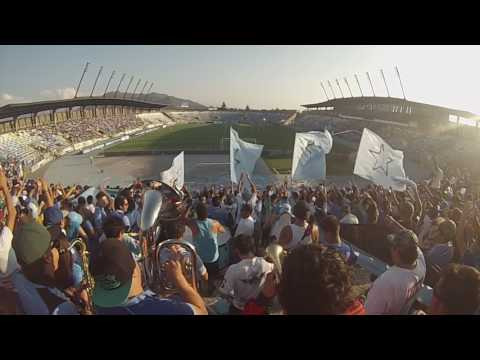 """""""Vamos capo vamos a ganar"""" Barra: Trinchera Celeste • Club: O'Higgins"""