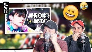 GUYS REACT TO BTS 'JEON JUNGKOOK'S HABITS!'