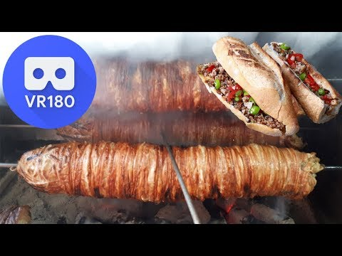 VR180 - Grilled Lamb Intestine Sandwich (Kokoreç)
