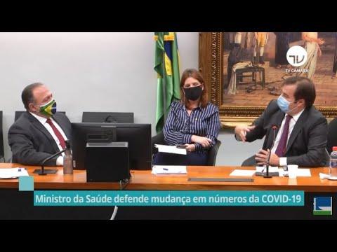 Ministro da Saúde defende mudança em números da Covid-19 - 09/06/20