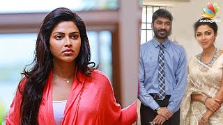 Amala Paul  Dhanush Was Against Giving Divorce To Director Vijay  Latest Tamil Cinema News