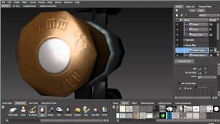 Painting In Mudbox For UDK (Part 11: Painting The Bullet)