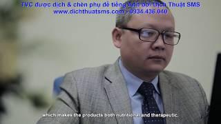 [TVC Nutricare] Dịch Việt - Anh và chèn phụ đề tiếng Anh