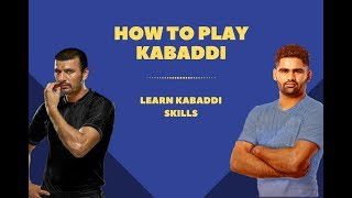 How to Play Kabaddi, learn Kabaddi skills