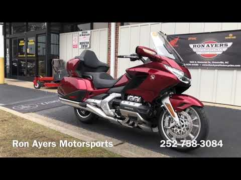2018 Honda Gold Wing Tour Automatic DCT in Greenville, North Carolina - Video 1