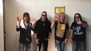 STRYPER - Rockin' The World / VIDEO MESSAGE