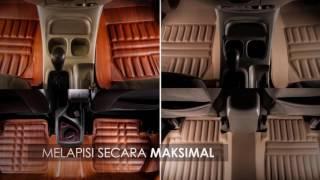 Karpet Mobil Set untuk Honda Mobilio - Black