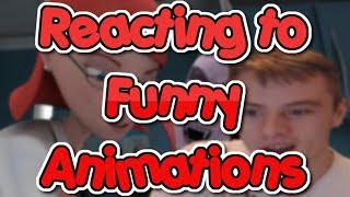 Reacting to Funny Animations on YouTube