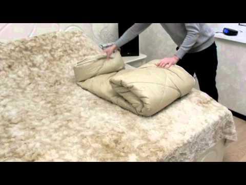 Camel wool quilt duvet (Donskoy Textile factory)