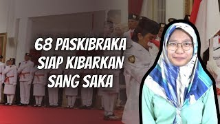 WOW TODAY: Daftar Lengkap Paskibraka dari 34 Provinsi di Indonesia