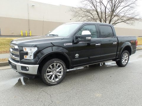 Pre-Owned 2016 Ford F-150 King Ranch 4x4 SuperCrew Cab Styleside 5.5 ft. box 145 in. WB