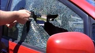 Car Window Breaker & Seat Belt Cutter Demo