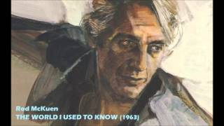 THE WORLD I USED TO KNOW (1963) - Rod McKuen