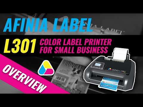 Digital Color Label Printer - Afinia Label L301