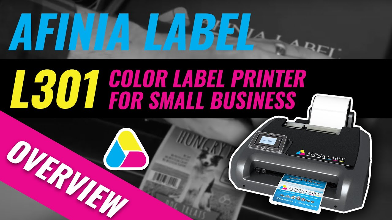 Professional label printing at a small business price