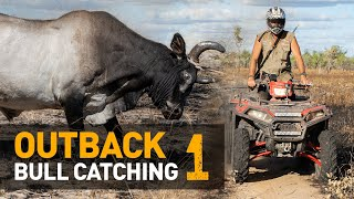 BEST. ACTION. EVER.  — Catching WILD scrub-bulls in Outback Australia [Part 1 of 2]