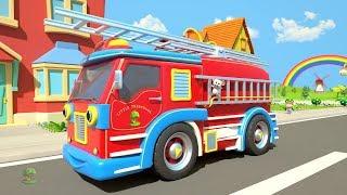 Wheels On The Bus & Vehicles | Kindergarten Nursery Rhyme For Kids | Cartoon Song | Little Treehouse