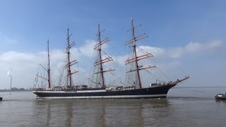 preview picture of video 'Segelschulschiff SEDOV in Bremerhaven / Седов в Бремерхафен'