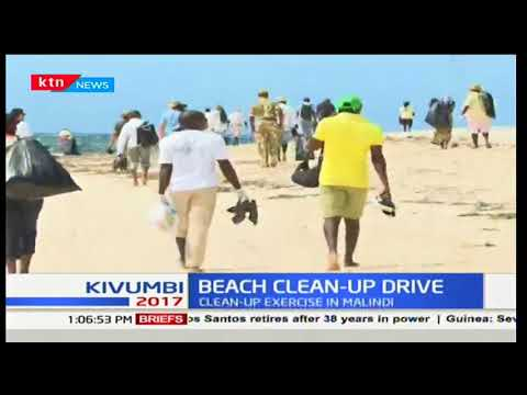 Beach clean up drive: Efforts to rid town of plastic bags