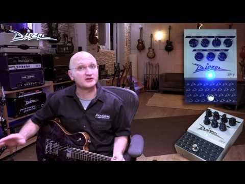 DIEZEL VH4 PEDAL Kytarový efekt