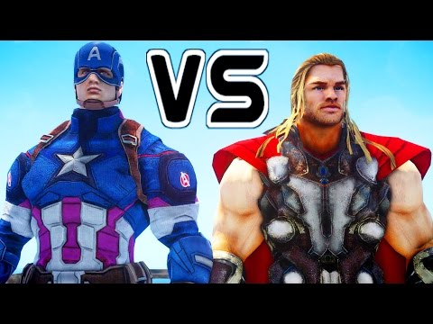 Download Captain America Vs Thor - Epic Superheroes Battle | Death Match HD Mp4 3GP Video and MP3