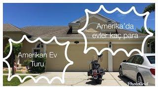 AMERİKA'DA EVLER | Müstakil Ev Turu/Fiyatı (Florida)