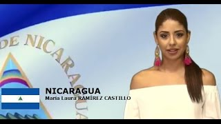Maria Laura Ramirez Contestant from Nicaragua for Miss World 2016 Introduction