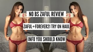 NO BS ZAFUL REVIEW PT. 2 | AFFORDABLE BIKINI TRY ON HAUL/ SUMMER SWIM LOOKBOOK | FOREVER21