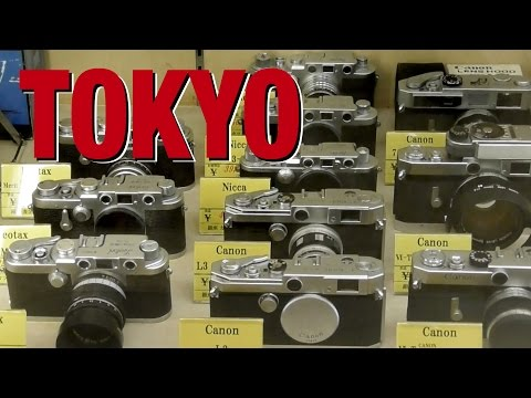 Tokyo used camera shopping guide - Ginza