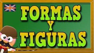 FIGURAS Y FORMAS  EN INGLÉS -  MR PEA