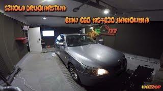 Szkoła Druciarstwa Hamownia Sprawdźmy co Kupiłem BMW E60 M54B30 Wazzup :)