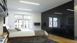 20 Beautiful Black Accent Walls In Different Bedrooms