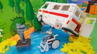 Видео для детей с игрушками компании Simba Toys - Утонувший дом!
