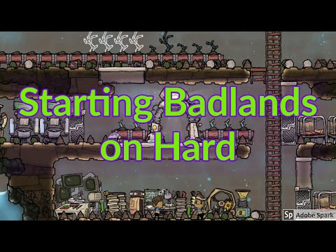 Badlands Max Difficulty 1 : Everything is fine : Oxygen Not included
