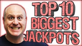 🎰TOP 10 BIGGEST JACKPOT$! 🎰March 2019 Compilation! 💥| The Big Jackpot