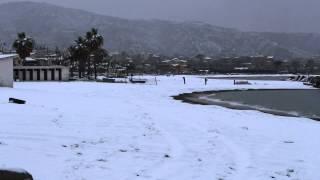 preview picture of video 'Neve a Catona (Reggio Calabria)'