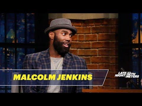 Seth Meyers Interviews Philadelphia Eagles' Super Bowl Champion Malcolm Jenkins