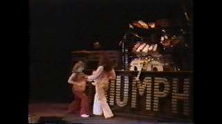 Ultra-rare! Triumph live at Canada Jam  - Mosport Park - 1978