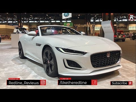 2021 Jaguar F-Type – Redline: First Look – 2020 Chicago Auto Show