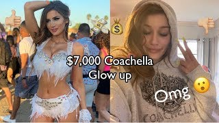 $7,000 COACHELLA GLOW UP (i spent 7k to look good at coachella)