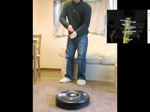 Guide Your Roomba With Your Hands With This Kinect Hack