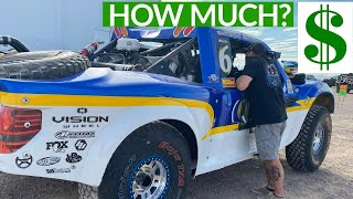 How much it REALLY cost to RACE an UNLIMITED TROPHY TRUCK in Off Road Desert Competition