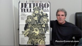 Jethro Tull Concert Posters 1970-1973 European Tours