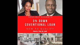 3% Down Conventional Loan: How to Qualify