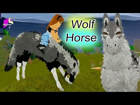 Wolf Horse ! Horse World New Horses ! Honey Hearts C Let's Play Roblox