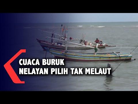 cuaca buruk nelayan bengkulu pilih tak melaut